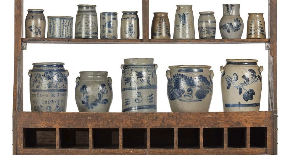 Property from the Estate of Louis Hahn, Session I: Stoneware and Advertising