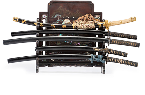 Japanese Arms and Armor Collection of Lore and Dave Squier