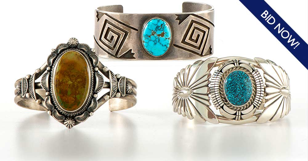 American Indian and Southwestern Jewelry: Live Auctioneers Timed Auction
