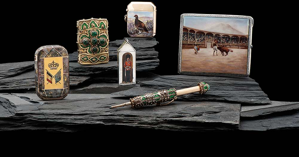 The Magnificent Match Safe Collection of David and Holiday Winfield: <br>Live Online Auction