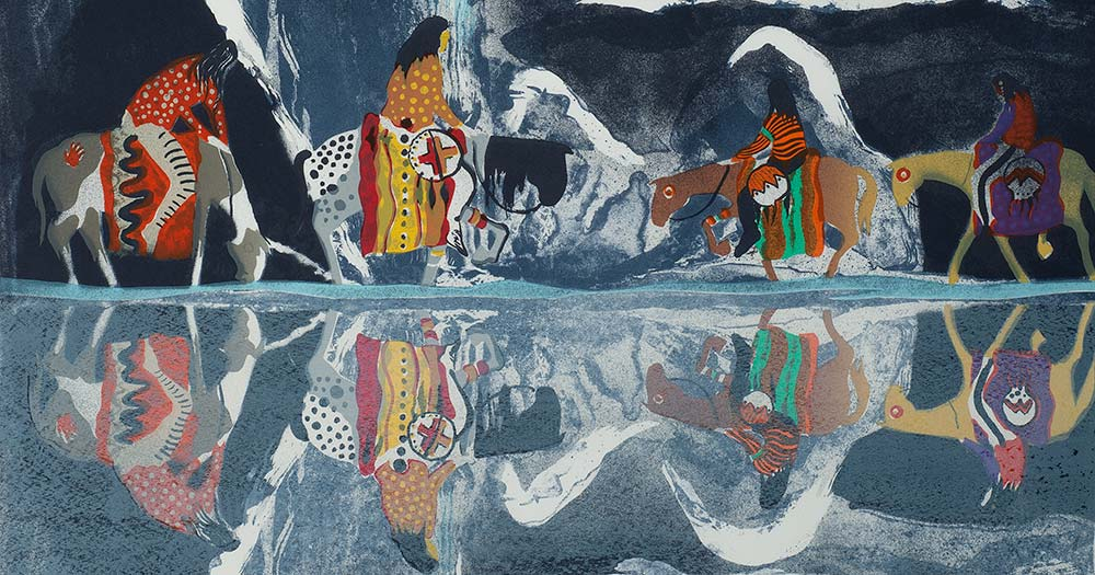 Contemporary Native American Art: Live Auctioneers Timed Auction