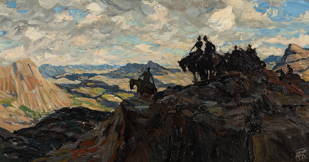 Spectacular Western and Sporting Art Highlight the James B. Scoville Collection