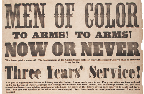 Men of Color, To Arms! To Arms! Now or Never