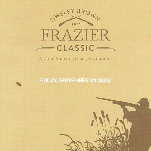Owsley Brown Frazier Classic Annual Sporting Clay Tournament