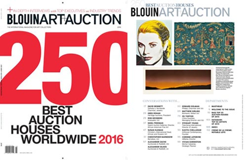 Blouin Art Info - Cowan's Continues to be Named As One of the Top 250 Auction Houses, Worldwide