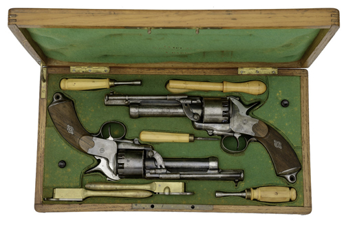 Young Collection Highlights Successful November Firearms Auction