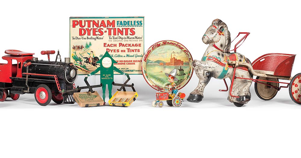 Advertising and Toys: Timed Online Auction