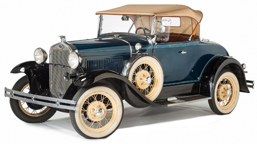 Ford 1930 Model A Deluxe Roadster