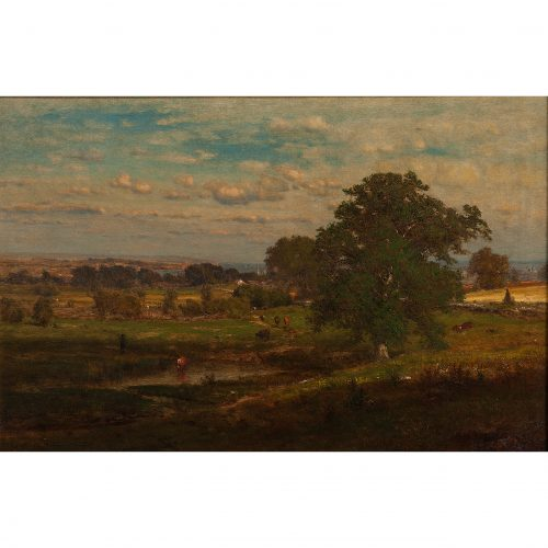 George Inness (American, 1825-1894)SpringPrice Realized: $96,000