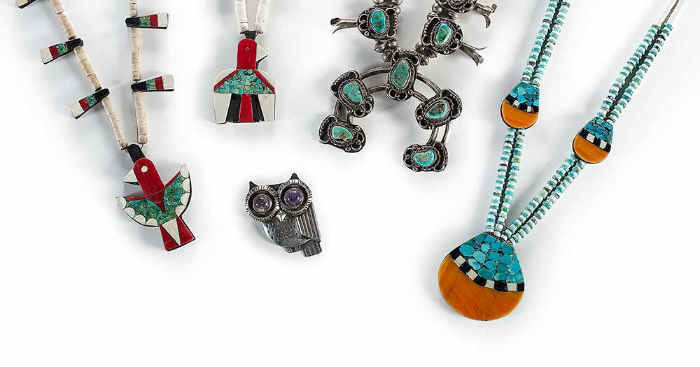 American Indian and Southwestern Jewelry: Timed Online Bidsquare Auction