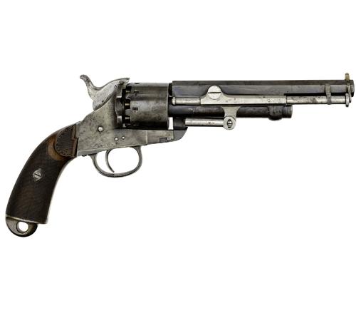 Belgian Brevet Model 1859 Prototype Lemat Percussion Revolver
