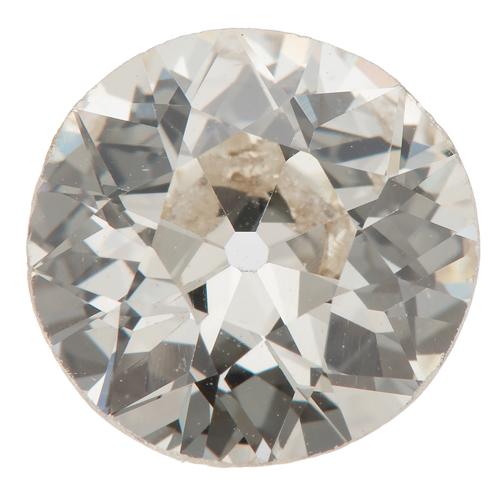 G.I.A. Certified 2.23 Old European Brilliant Cut Diamond
