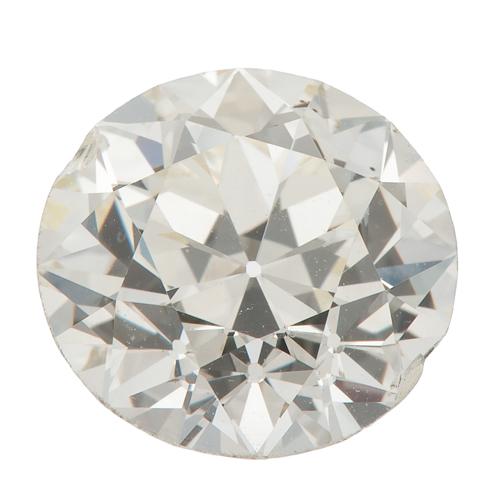 G.I.A. Certified 2.59 Carat Round Brilliant Cut Diamond