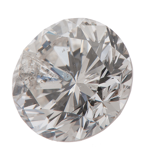 G.I.A. Certified 2.04 Carat Round Brilliant Cut Diamond