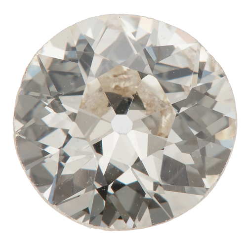 G.I.A. Certified 2.23 Old European Brilliant Cut Diamond
