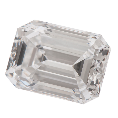G.I.A. Certified 2.27 Carat Emerald Cut Diamond