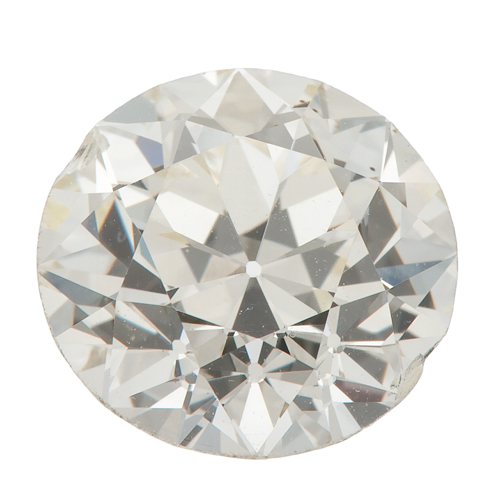 G.I.A. Certified 2.59 Carat Round Brilliant Cut Diamond