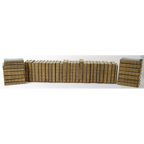 Literature - Jack London - Fine Binding - 42 Volumes of Jack London in Uniform Fine Bindings - Includes 13 First Editions
