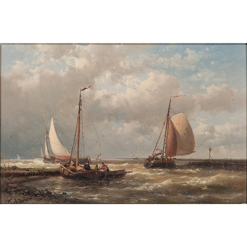 Abraham I Hulk (Anglo-Dutch, 1813-1897)