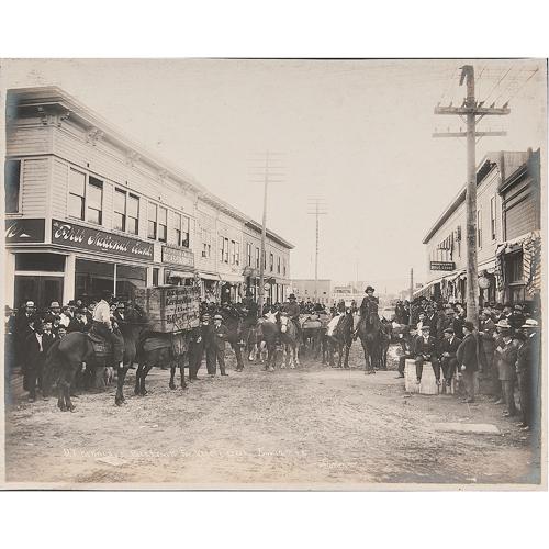 Outstanding Alaska Photograph Album Featuring Photographs by Albert J. Johnson