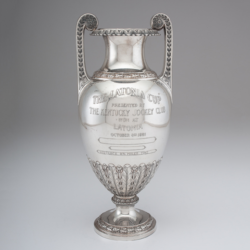 Latonia, Kentucky Sterling Silver Racing Trophy