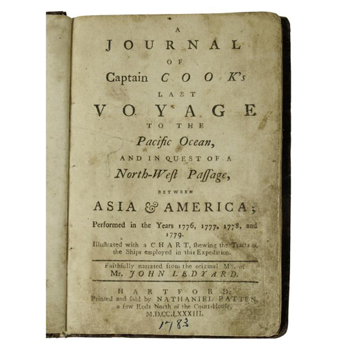 Voyages and Travel - Maritime - Rare Ledyard Account of Cook