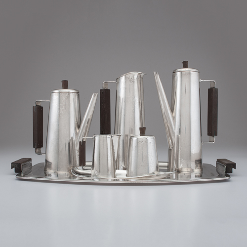 Mexican Modernist Sterling Coffee Service