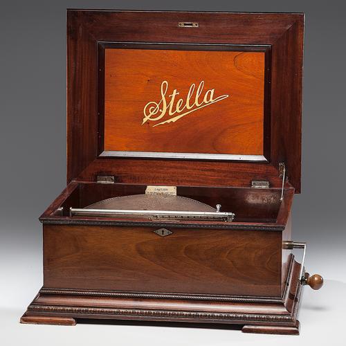 Stella 15.5 Inch Disc Music Box