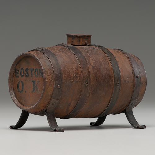 William Henry Harrison, 1840 Campaign Hard Cider Barrel Bank