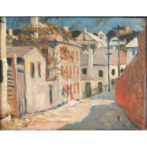 Carl Gaertner (American, 1898-1952) Oil on Canvas Board