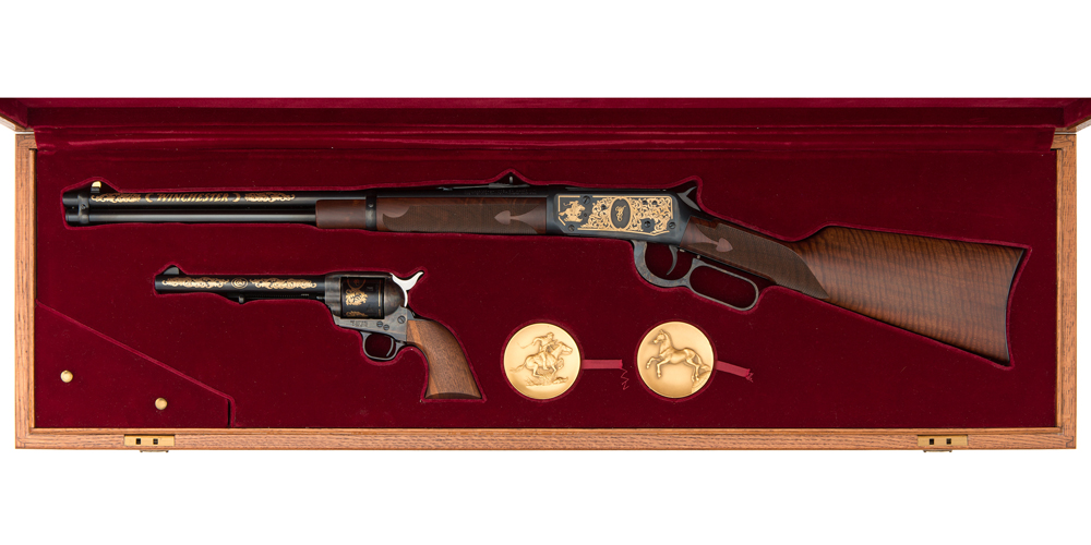Case Commemorative Set of Winchester Model 94 and Colt Single Action Army
