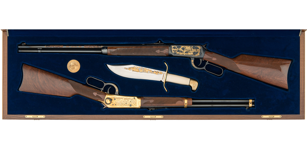Cased Set of Texas Sesquicentennial Winchester Model 94