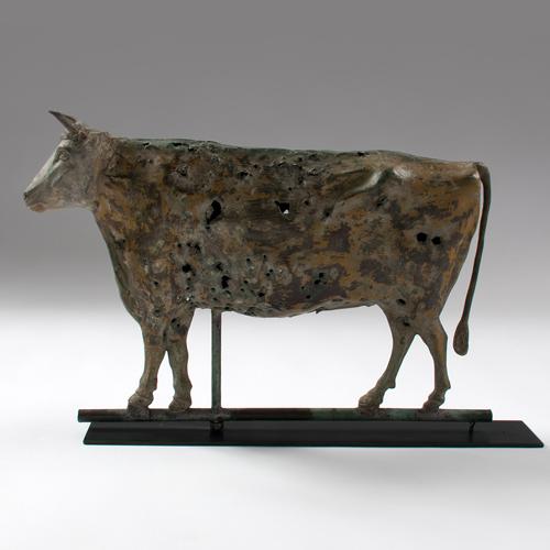Copper Steer Weathervane