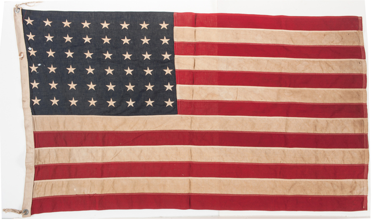 Historic Operation Overlord World War II P.T. Boat 520 Flag