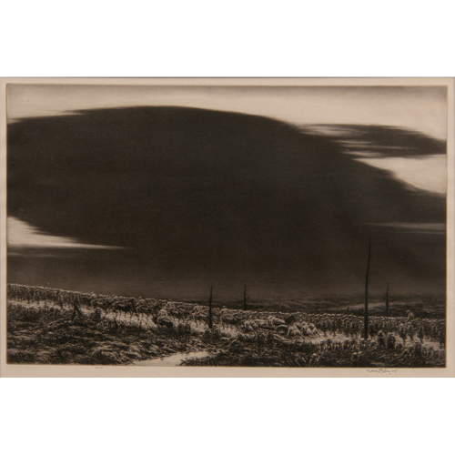 Kerr Eby (Canadian, 1889-1986) Etching, Plus, Lot of Two