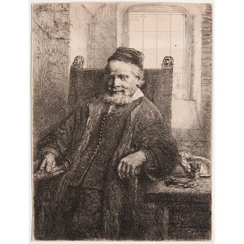 Rembrandt Van Rijn (Dutch, 1606-1669) Etching
