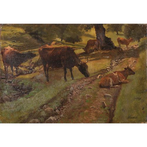 Albert Bierstadt (American, 1830-1902)