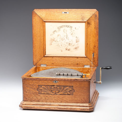Criterion Coin-Operated Music Box