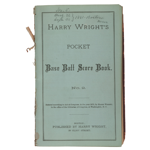 Father of Professional Baseball Harry Wright