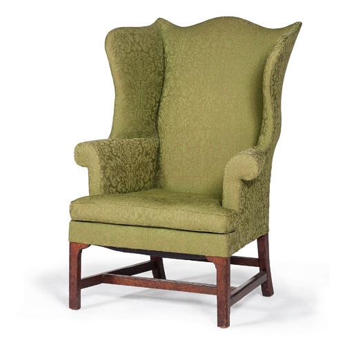 Massachusetts Chippendale Easy Chair