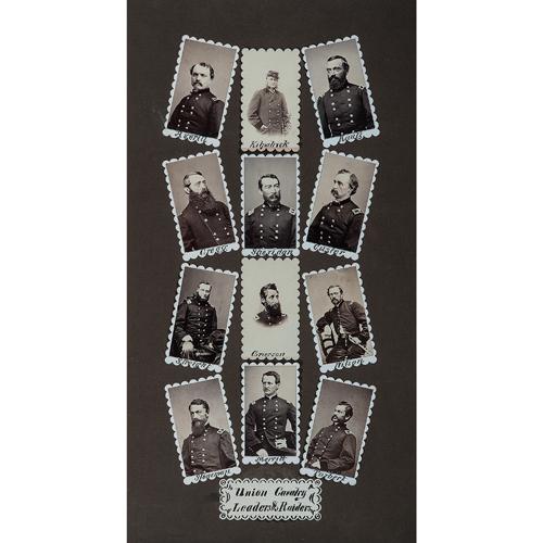 Mathew Brady, Original Photograph Maquette, Union Cavalry Leaders