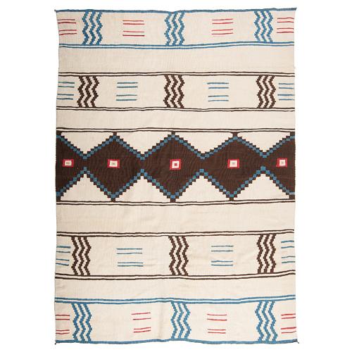 Navajo Classic Serape with White Field / Rug