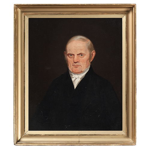 Robert Scott Duncanson, Portrait of Cincinnati Instrument Maker James Foster, Jr.