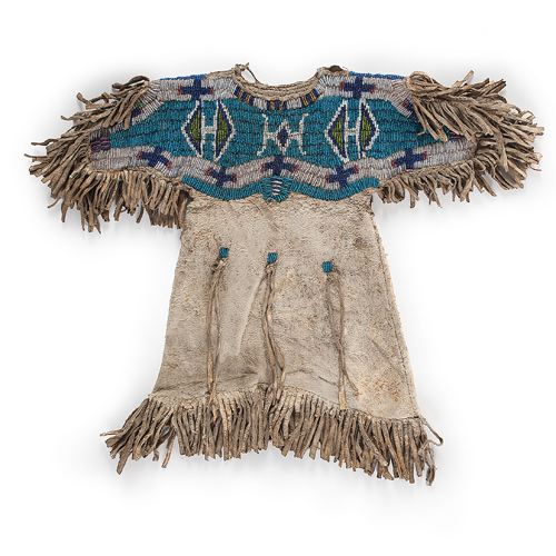 Sioux Beaded Infant Dress