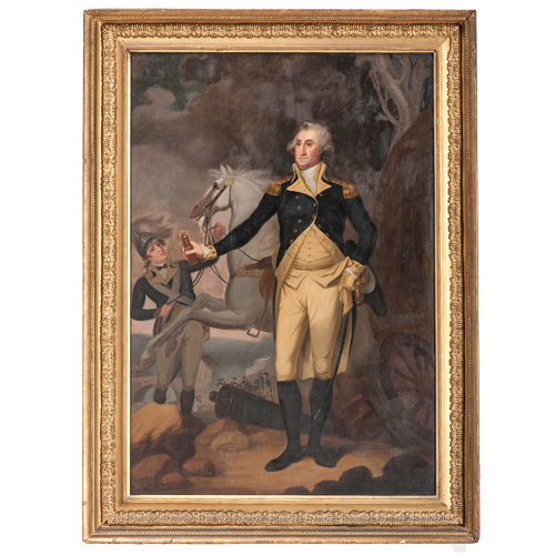 George Washington at Trenton, New Jersey After John Trumbull
