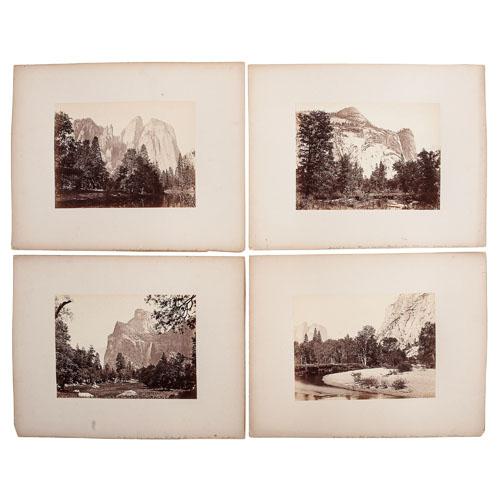 Carleton Watkins Set of 32 Yosemite Valley Photographs