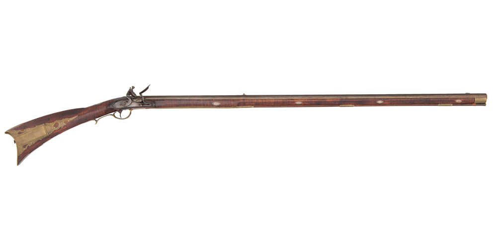 Kentucky Flintlock Rifle By Robert Woods