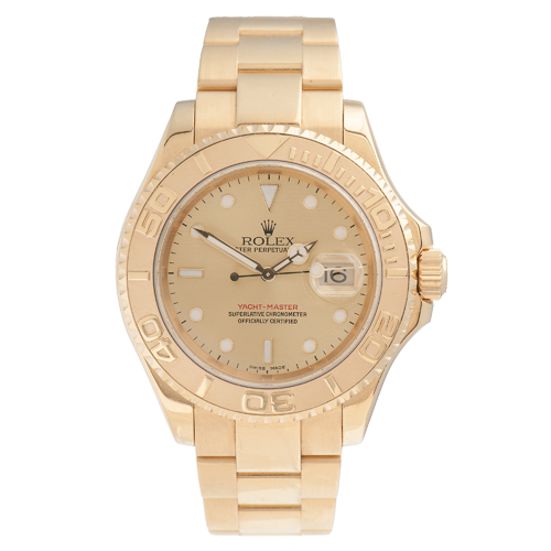 Rolex Oyster Perpetual Date Yacht Master 40 in 18 Karat Yellow Gold