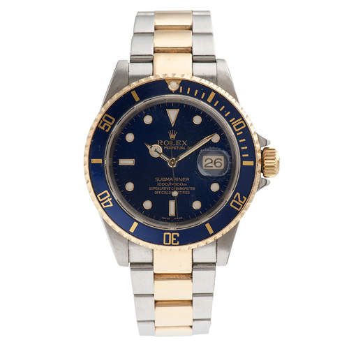 Rolex Submariner Date Reference 2160 in 18 Karat Gold and Stainless Steel Ca. 2002