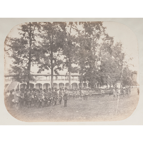 Sketches of Camp Boone, The First Encampment of the Kentucky State Guard, 1860, Containing Original Salt Prints